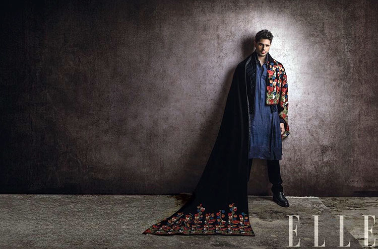 Sidharth Malhotra is nailing it in his Elle photoshoot