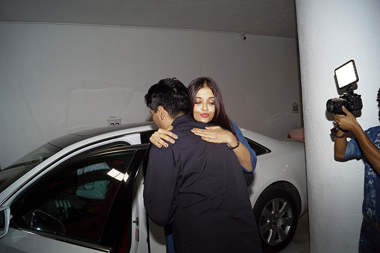 Aishwarya Rai after Manish Malhotra's party