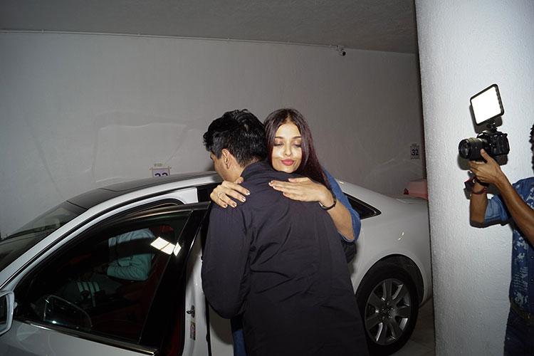 Aishwarya Rai after Manish Malhotra's party