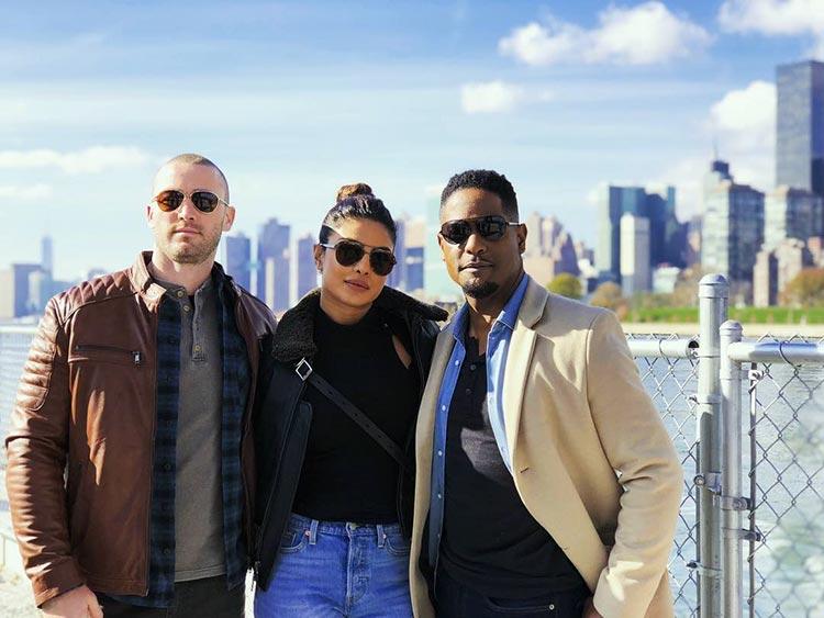 Priyanka Chopra's pic with her Quantico 3 co-stars