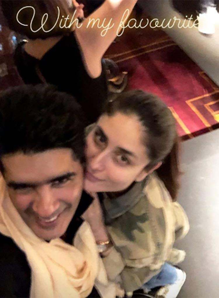 Manish Malhotra with his muse Kareena Kapoor Khan
