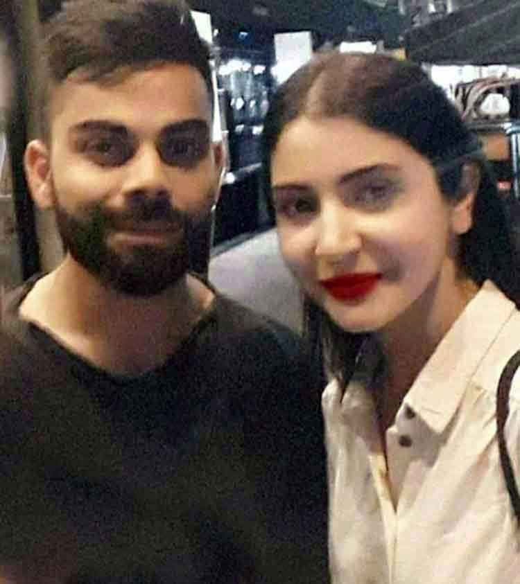 Virat Kohli and Anushka Sharma look awesome in this pic