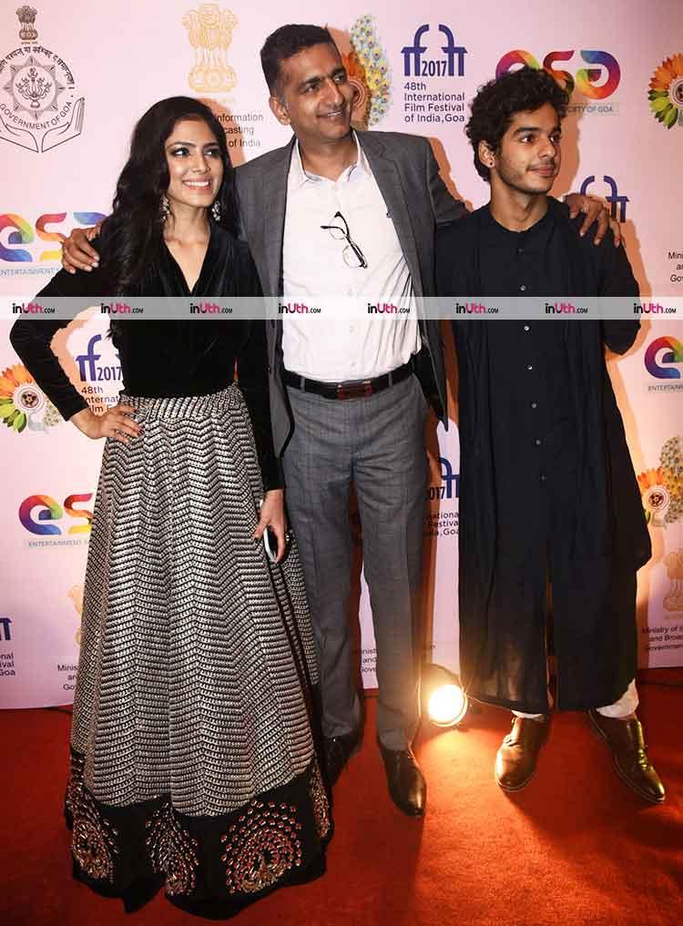 Beyond The Clouds star Ishaan Khatter and Malavika Mohanan