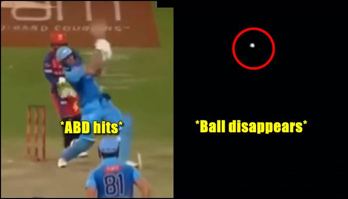 AB De Villiers Smashes A 19 Ball Fifty Hits The Out Of Stadium With Brute Force Watch Video