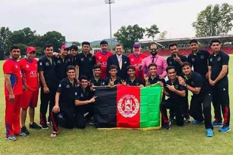 Afghanistan beat Pakistan by a huge margin of 185 runs to win maiden Under-19 Asia Cup final!