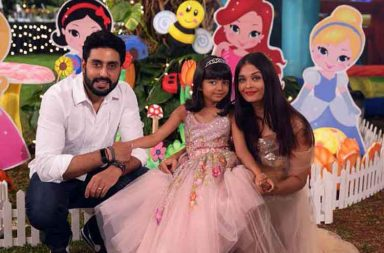 Aishwarya and Abhishek Bachchan celebrate Aaradhya's birthday