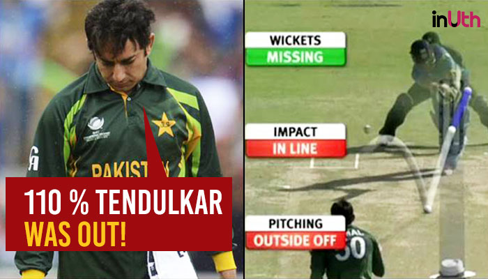 Saeed Ajmal still feels he was denied the wicket of Sachin Tendulkar in World Cup 2011!