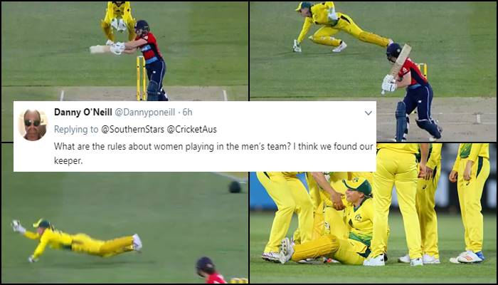 Alyssa Healy takes the catch of 'The Ashes', one-handed blinder makes Twitterati go crazy!