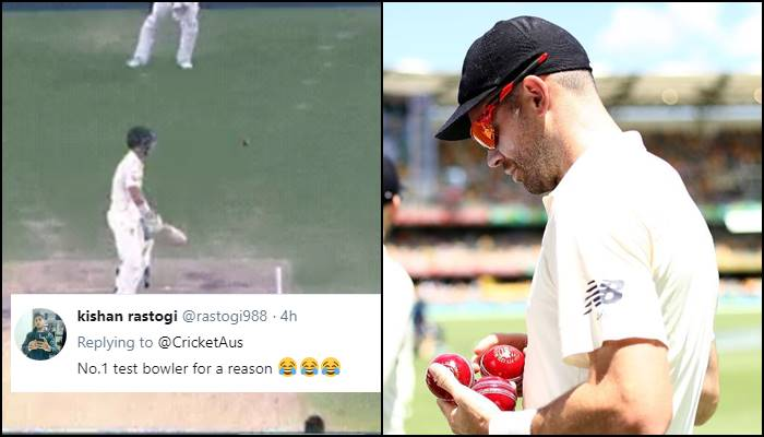 James Anderson gets brutally trolled for bowling the weirdest delivery of Ashes 2017-18 to David Warner — WATCH