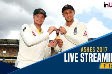Ashes 2017 Australia vs England 1st Test Live Streaming