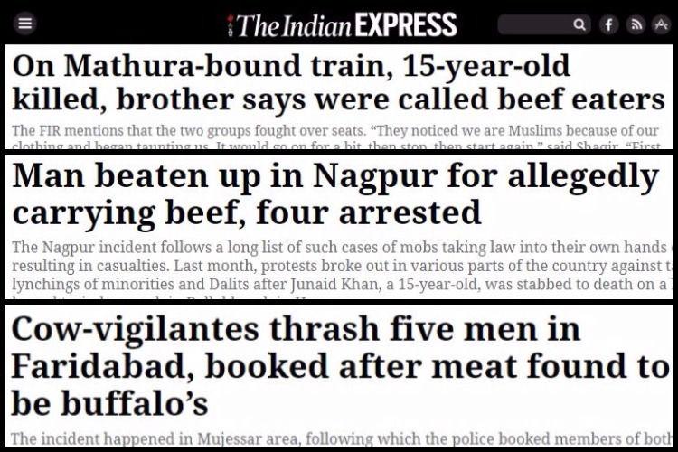 Beef Ban, Cow Vigilante, News, Indian Express