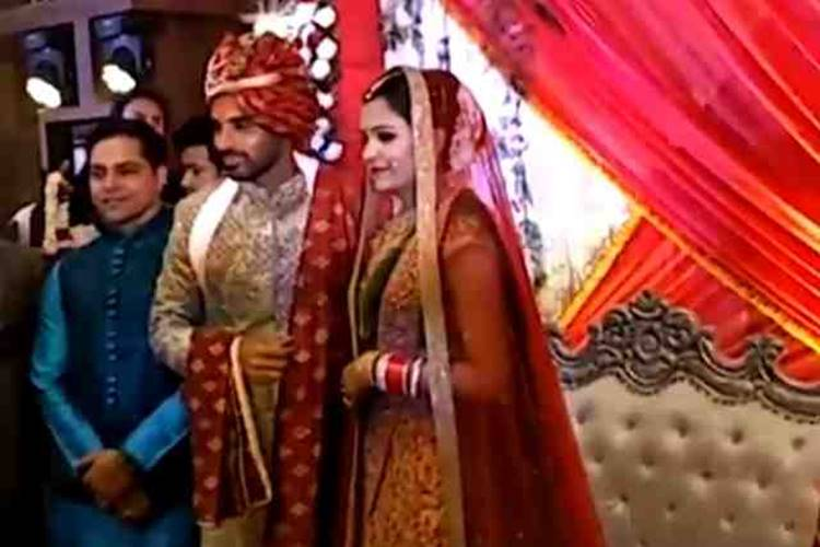 Bhuvneshwar Kumar gets married to girlfriend Nupur Nagar — WATCH