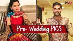 PHOTOS: Bhuvneshwar Kumar, Nupur Nagar's pre-wedding photoshoot