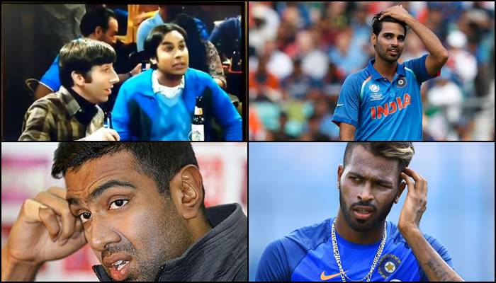 American sitcom The Big Bang Theory trolls Ashwin, Bhuvneshwar, Pandya for their names — WATCH