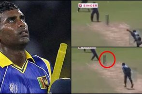 Chamara Silva, Chamara Silva video, Chamara Silva bowled, bizarre wickets in cricket, bizarre dismissals in cricket, weird shots in cricket, bizarre moments in cricket, Sri Lankan cricketer, MAS Unichela vs Teejay Lanka