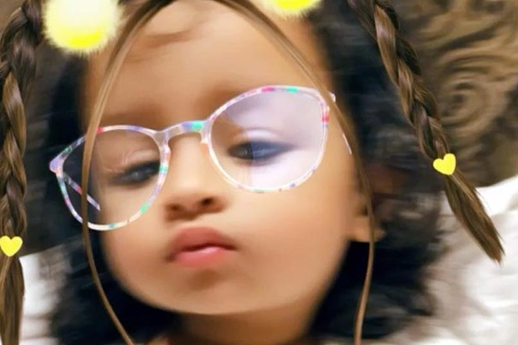 MS Dhoni's daughter Ziva pouts like a pro for the camera — Watch Video