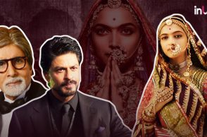 Deepika Padukone. Shah Rukh Khan, Amitabh Bachchan, Padmavati | Photo created for InUth.com
