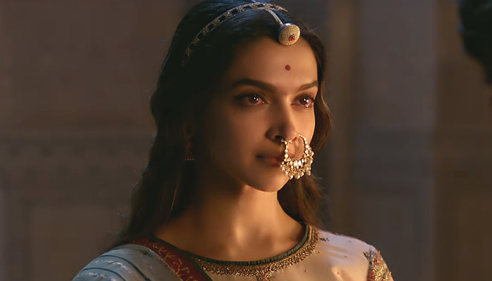 Deepika Padukone in Padmavati, Padmavati | Courtesy: YouTube still | Photo created for InUth.com