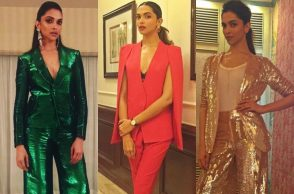 Deepika Padukone power dressing