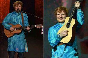 Ed Sheeran Mumbai concert pics