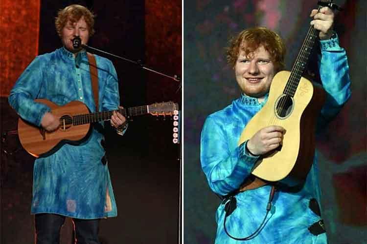 Ed Sheeran Mumbai concertpics