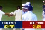 Niroshan Dickwella fights with Mohammed Shami and Ravichandran Ashwin, Virat Kohli steps in to mediate —WATCH