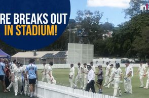 Nathan Lyon, Nathan Lyon burnt toast, Nathan Lyon fire alarm, Nathan Lyon delays play, New South Wales vs Queensland, Steven Smith, Fire alarm cricket, Bizarre reasons to stop cricket, cricket match stopped for bizarre reasons