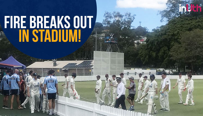 Nathan Lyon burns toast in dressing room, play gets delayed as fire alarm goes off — WATCH