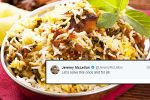 Biryani with potatoes or without it? Non-Indians are battling it out on Twitter
