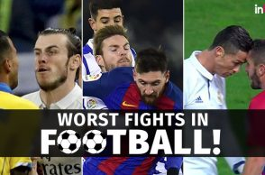 Football fights in 2017, Lionel Messi fight, Gareth Bale fight, Vierra fight, Crisitiano Ronaldo fight, Koke fight, Ugly football fights, Nasty football fights, Zlatan Ibrahimovic, Samir Nasri, Jamie Vardy