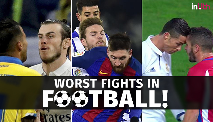 Lionel Messi to Cristiano Ronaldo, here are the top fights on football field that turned nasty! — WATCH