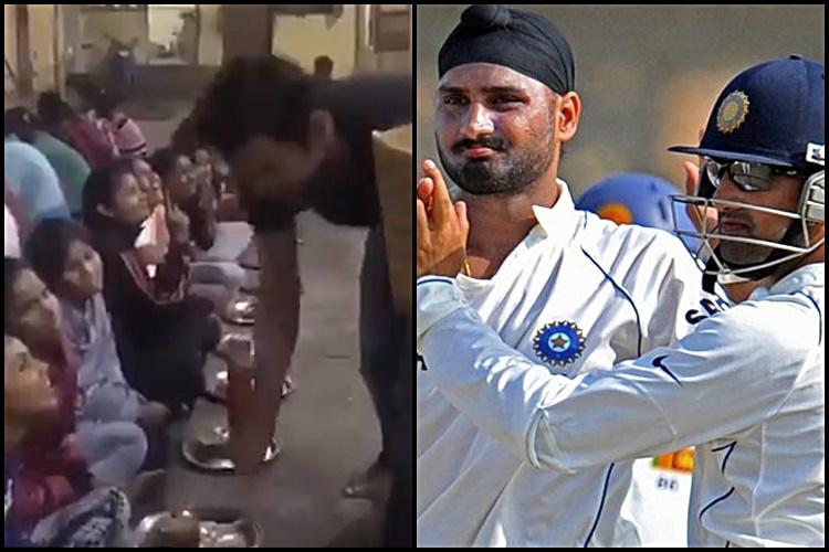 Gautam Gambhir's gesture on Children's Day wins hearts of Harbhajan Singh & Twitterati —WATCH