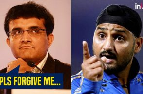 Sourav Ganguly apologises to Harbhajan Singh
