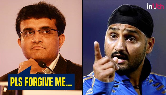 Sourav Ganguly apologises to Harbhajan Singh for calling his daughter a boy!
