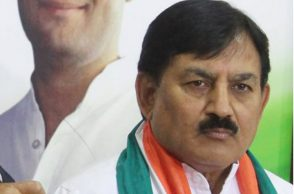 Gujarat, Congress Chief, Bharatsinh Solanki
