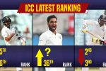 Virat Kohli, Mohammed Shami, Bhuvneshwar Kumar rise up in ICC Test rankings, Ravindra Jadeja slips one place!