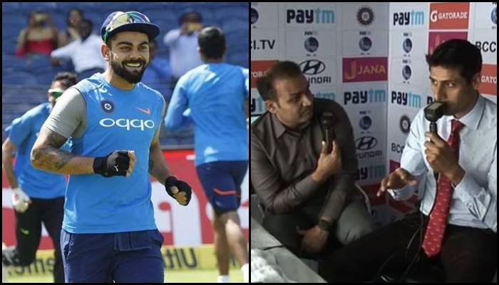 Ashish Nehra reveals his Yo-Yo test score, find out whether he could beat Virat Kohli – Watch