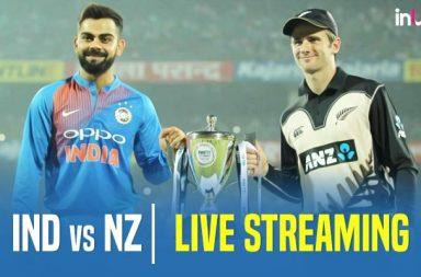 India vs New Zealand 3rd T20I Live Streaming