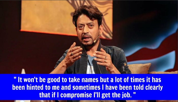 Irrfan Khan Sexual Harassment