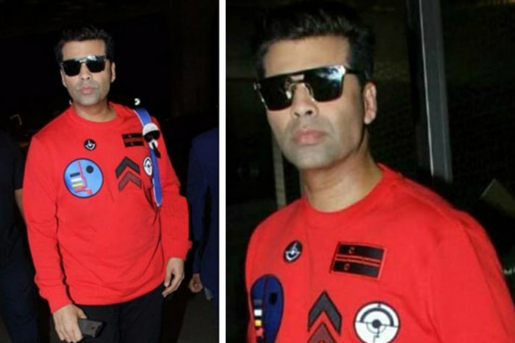 You can go on a trip to Thailand at the cost of Karan Johar'ssweatshirt