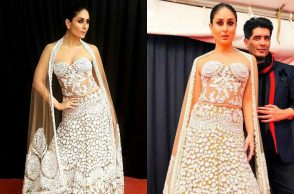 Kareena Kapoor turns showstopper for Manish Malhotra