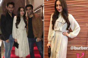Karisma Kapoor parties with Aadar and Armaan Jain