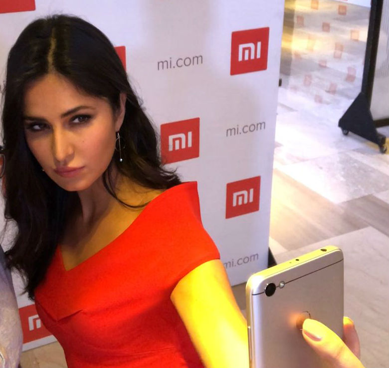 Katrina Kaif at the RedmiY1 launch