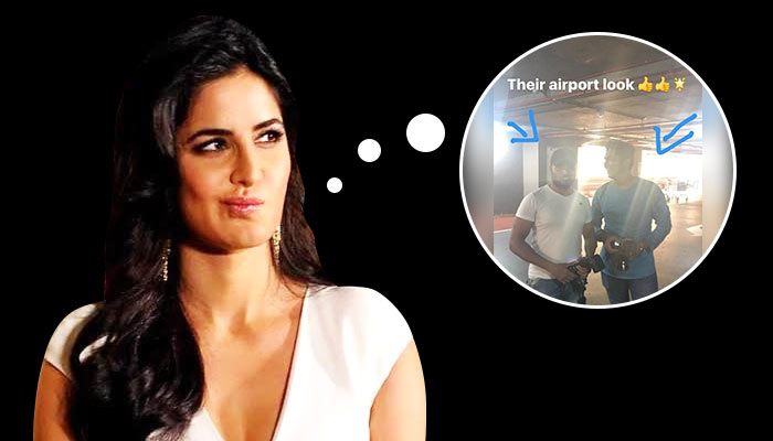 Sweet revenge? Katrina Kaif clicks and rates airport looks of these paparazzi