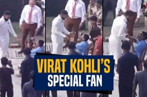 Virat Kohli breaks security cover to meet his 'special friend'