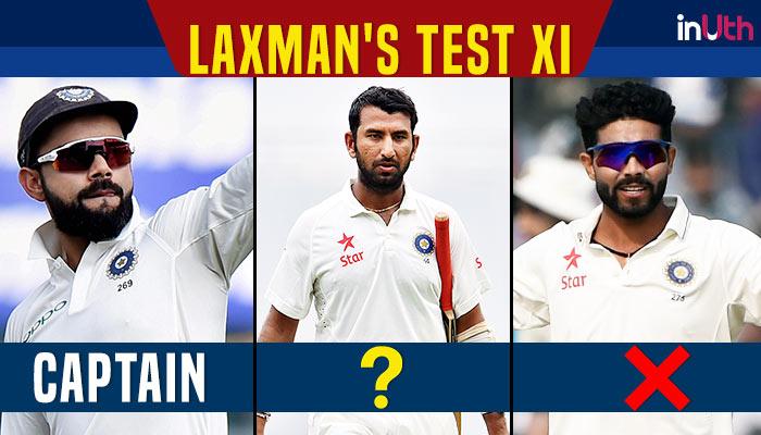 VVS Laxman picks his Test XI: Virat Kohli captain, no place for Cheteshwar Pujara, RavindraJadeja