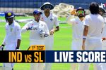 Live, India vs Sri Lanka 1st Test, Day 4 Live Cricket Score: Will Indian bowlers wrap-up visitors' first innings early?