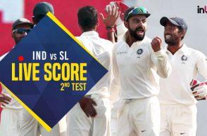 India vs Sri Lanka 2nd Test Live, Nagpur Test, IND vs SL live score updates, IND vs SL score updates, live cricket score, Virat Kohli, Vijay Shankar debut, Niroshan Dickwella