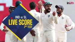Live, India vs Sri Lanka 2nd Test, Day 1 Live Cricket Score: Karunaratne departs for 51