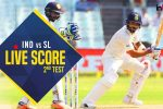 Live, India vs Sri Lanka 2nd Test Day 2, Live Cricket Score: Vijay-Pujara resume Indian inning